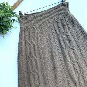 Moth | Size XS Brown/ Taupe Skirt